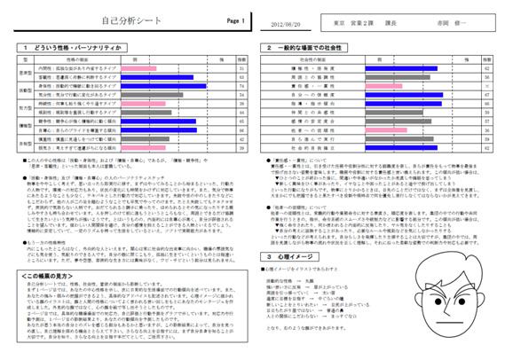 個人特性分析結果イメージNO3